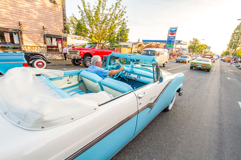 THE HARVEST NIGHTS Car Cruise is one of the most popular events during the annual Battle Ground Harvest Days celebration. The cruise event usually attracts more than 400 participants and hundreds of spectators.