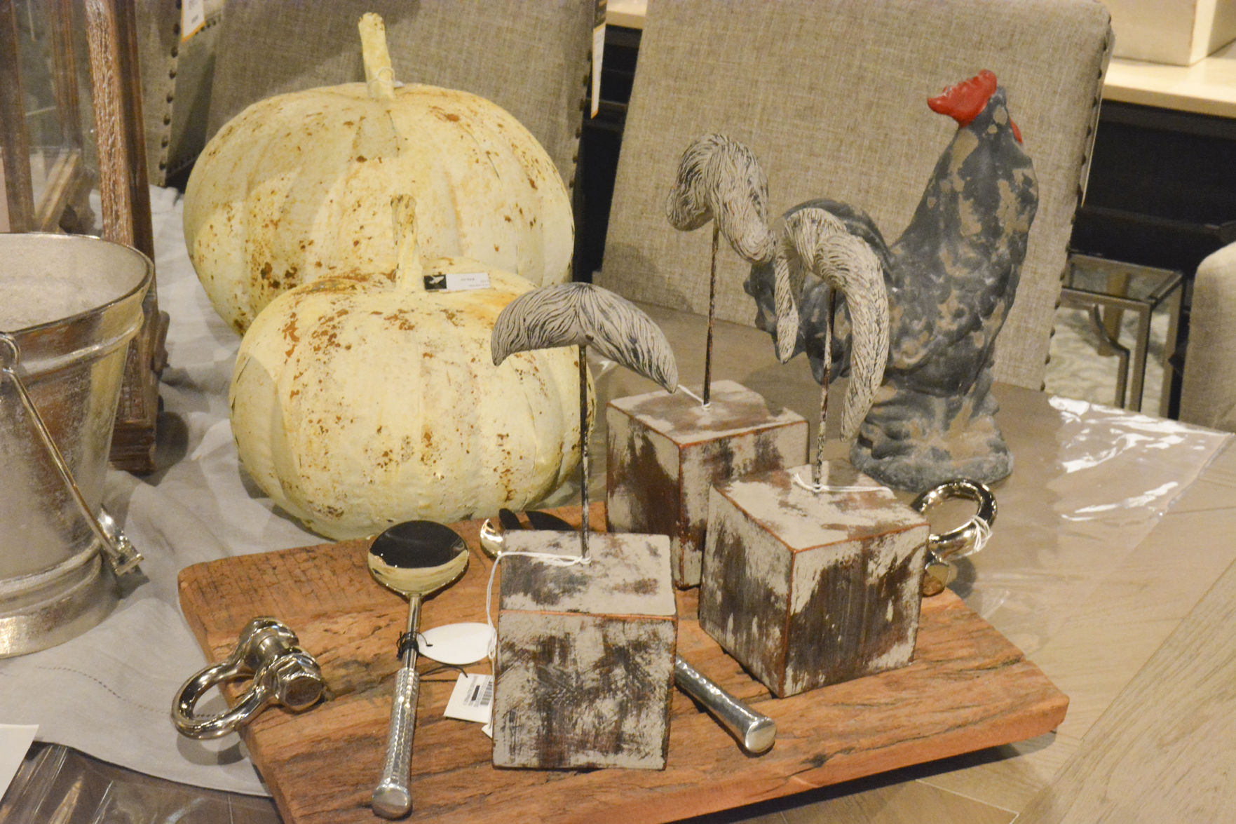 Pictured Are Several Fall Themed Decorations On Display At Creative  Interiors And Design In Brush Prairie