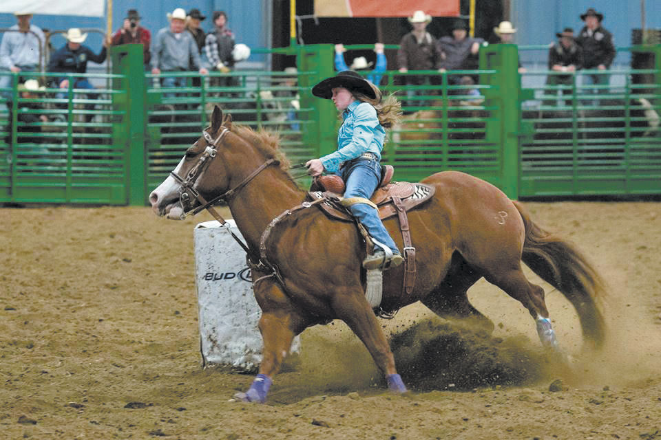 Hockinson Has A Junior Nfr Champion Horse Corral