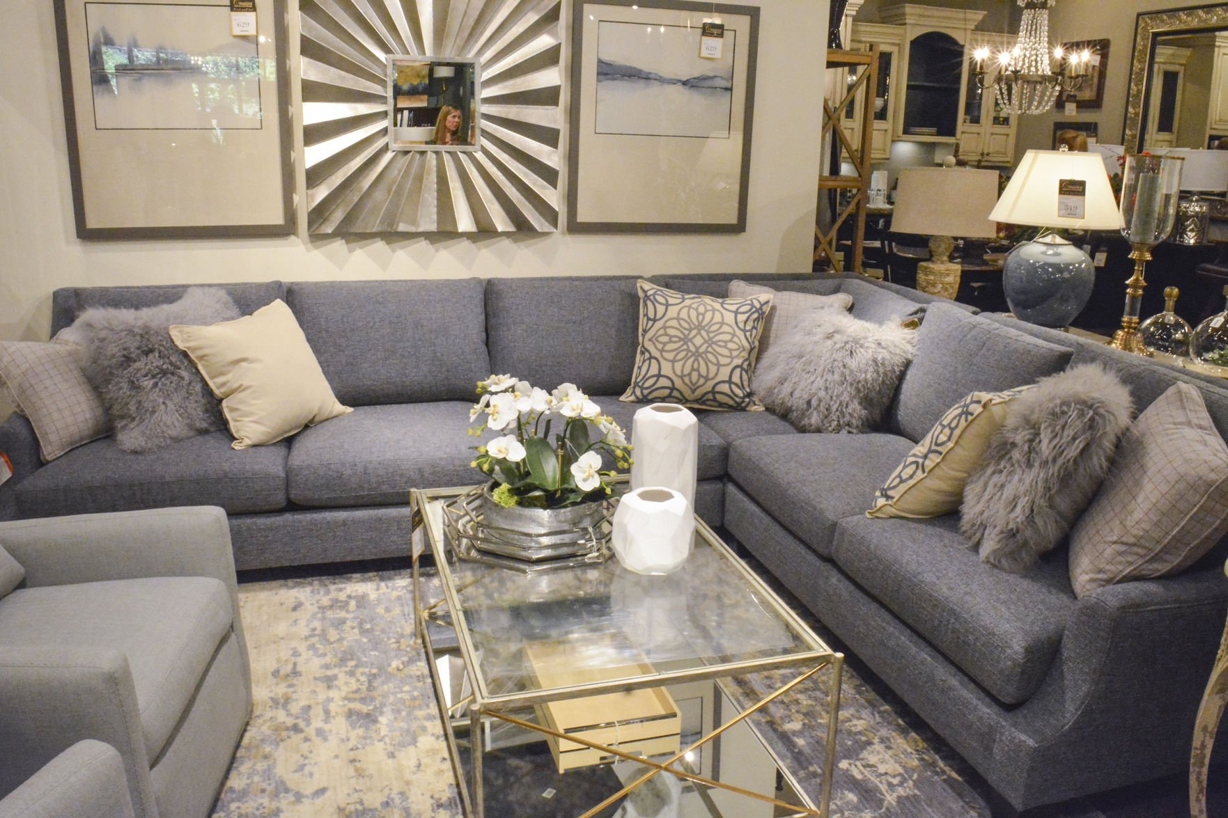 According To Interior Designers At Creative Interiors And Design In Brush  Prairie, Non Neutral Colors, Such As Blue, Are Coming Back Into Style.