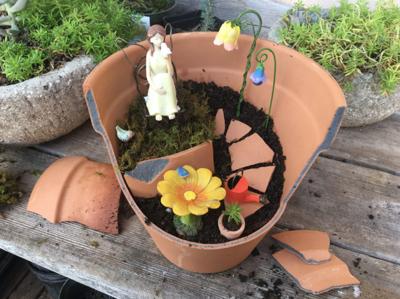 How to create a fairy garden | Garden Scene | thereflector com