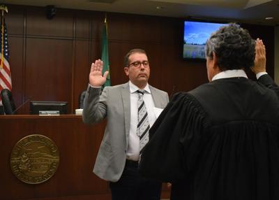 Mayor sworn in