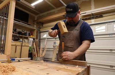 Mustang Custom Woodworking Chisels Out Visions Home Scene