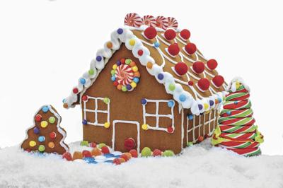 Get creative with your gingerbread house | Food | thereflector.com on butterfly roof designs, church roof designs, gingerbread house chimneys, gingerbread house masonry, garden roof designs, birdhouse roof designs, snow roof designs, gingerbread house details, gingerbread house roofing,