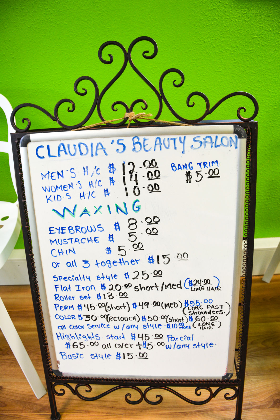 Claudias Beauty Salon Opens In La Center Health Beauty