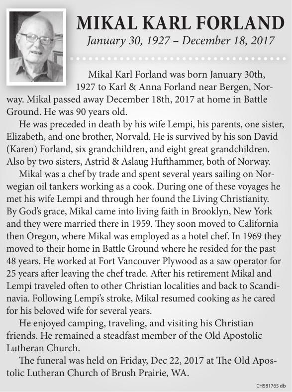 Mikal Karl Forland