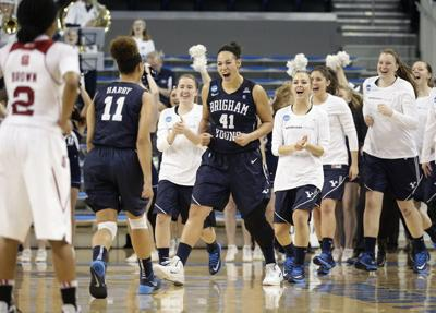BYU upsets 5th-seed NC State on Day 1 of NCAA Women's Tournament