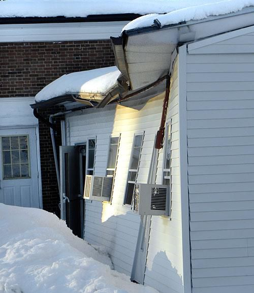 Roof collapses in Lansdale