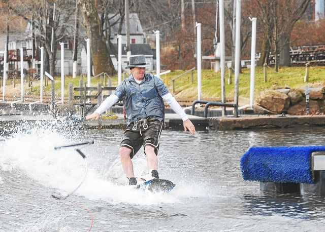 A New Year's tradition: The Port Indian Ski Freeze in West Norriton