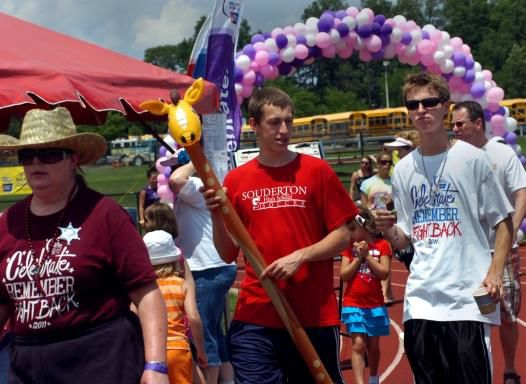 Relay for life in full swing at North Penn High School (video)