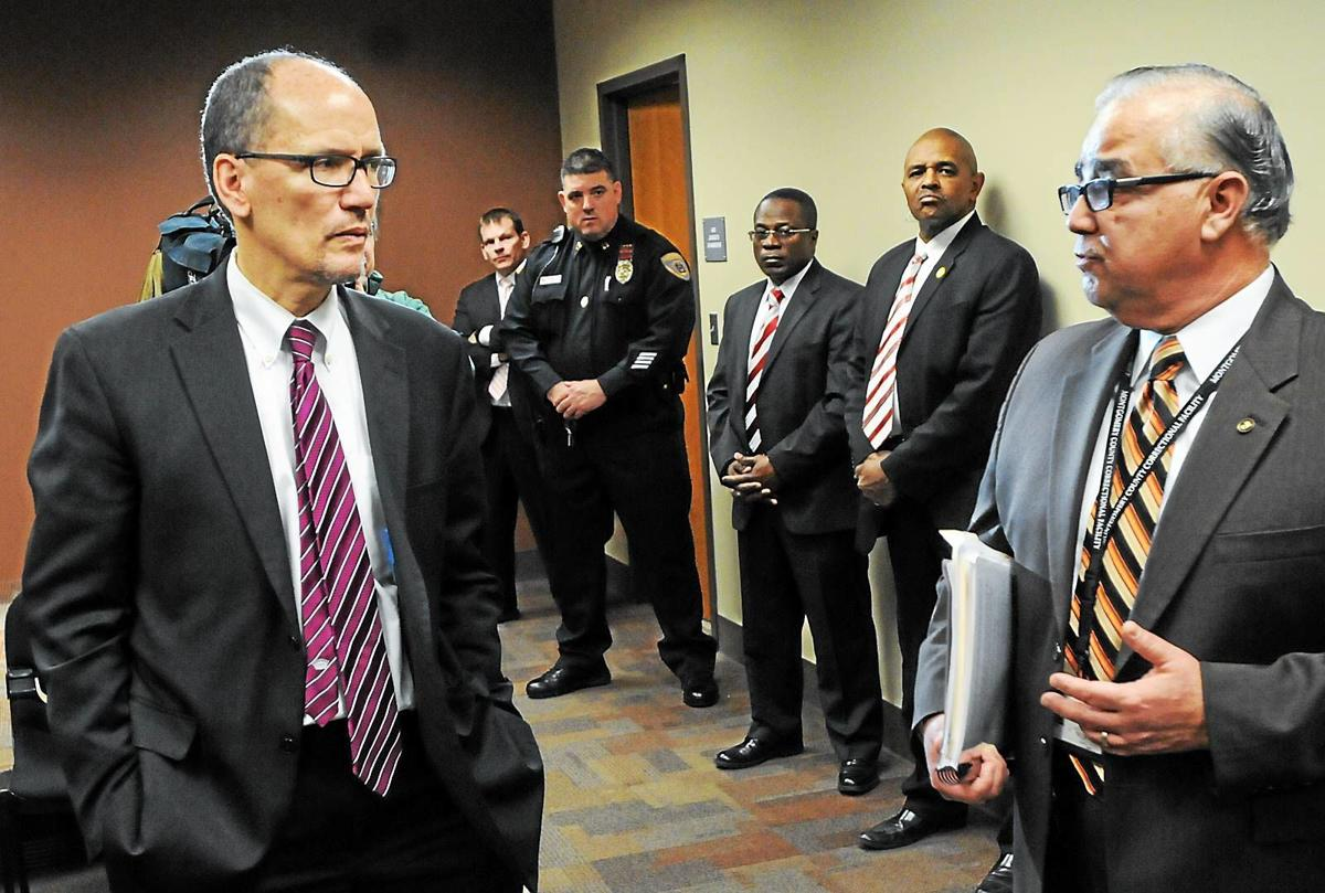 U.S. Labor Secretary visits Montgomery County Correctional Facility