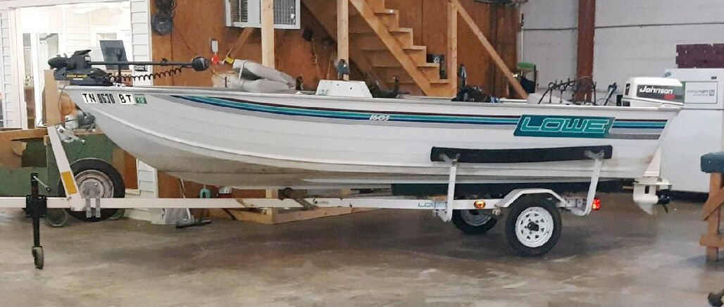 1994 Lowe boat 1650, brand new GPS, depth finder