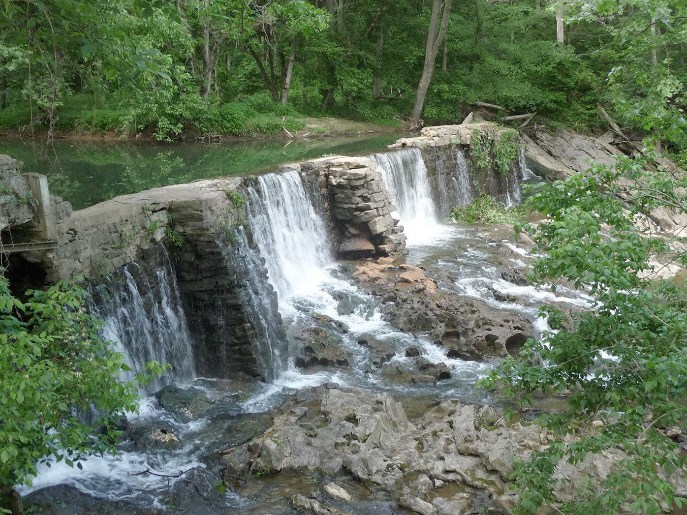 Historic Amis Mill Dam, ca. 1781