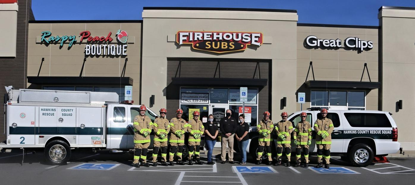 Hawkins County Rescue Squad receives lifesaving equipment grant award from Firehouse Subs Public Safety Foundation