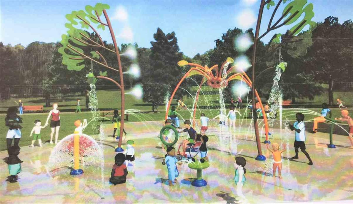 New splashpad at Church Hill's Derrick Park scheduled for June 6 completion