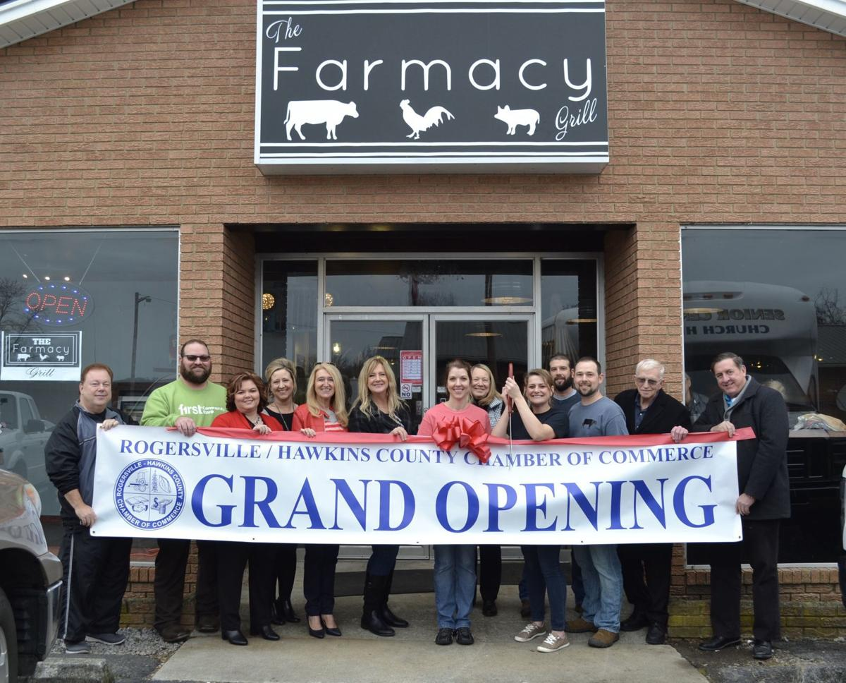 Surgoinsville's Farmacy Grill celebrates joining the Chamber of Commerce