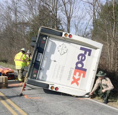 Rogersville FedEx driver killed in Greene Co  accident