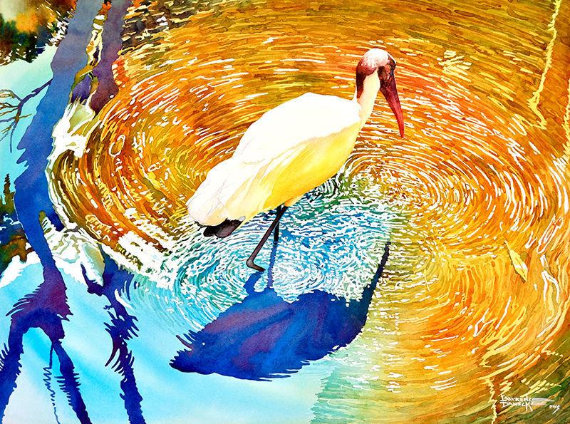 Danecke's American Wood Stork
