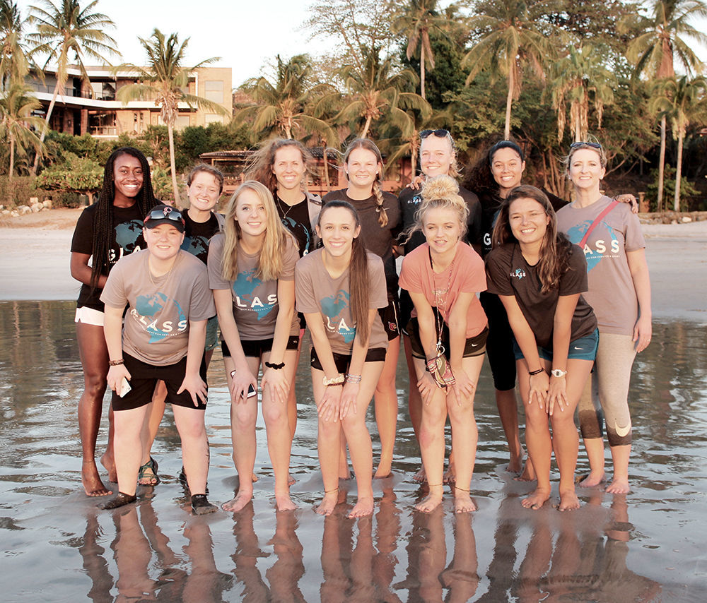 Cherokee Lady Chiefs in Costa Rica