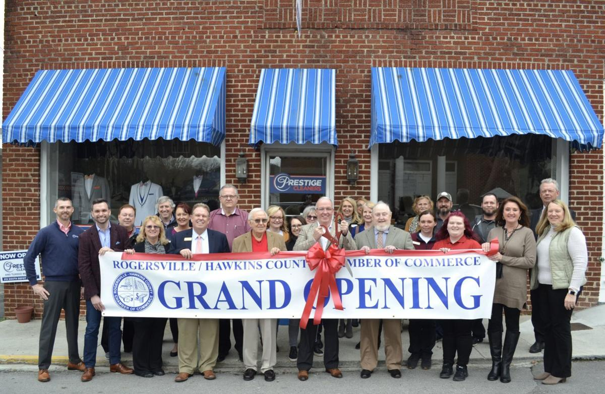 Prestige Cleaners of Rogersville celebrates grand opening