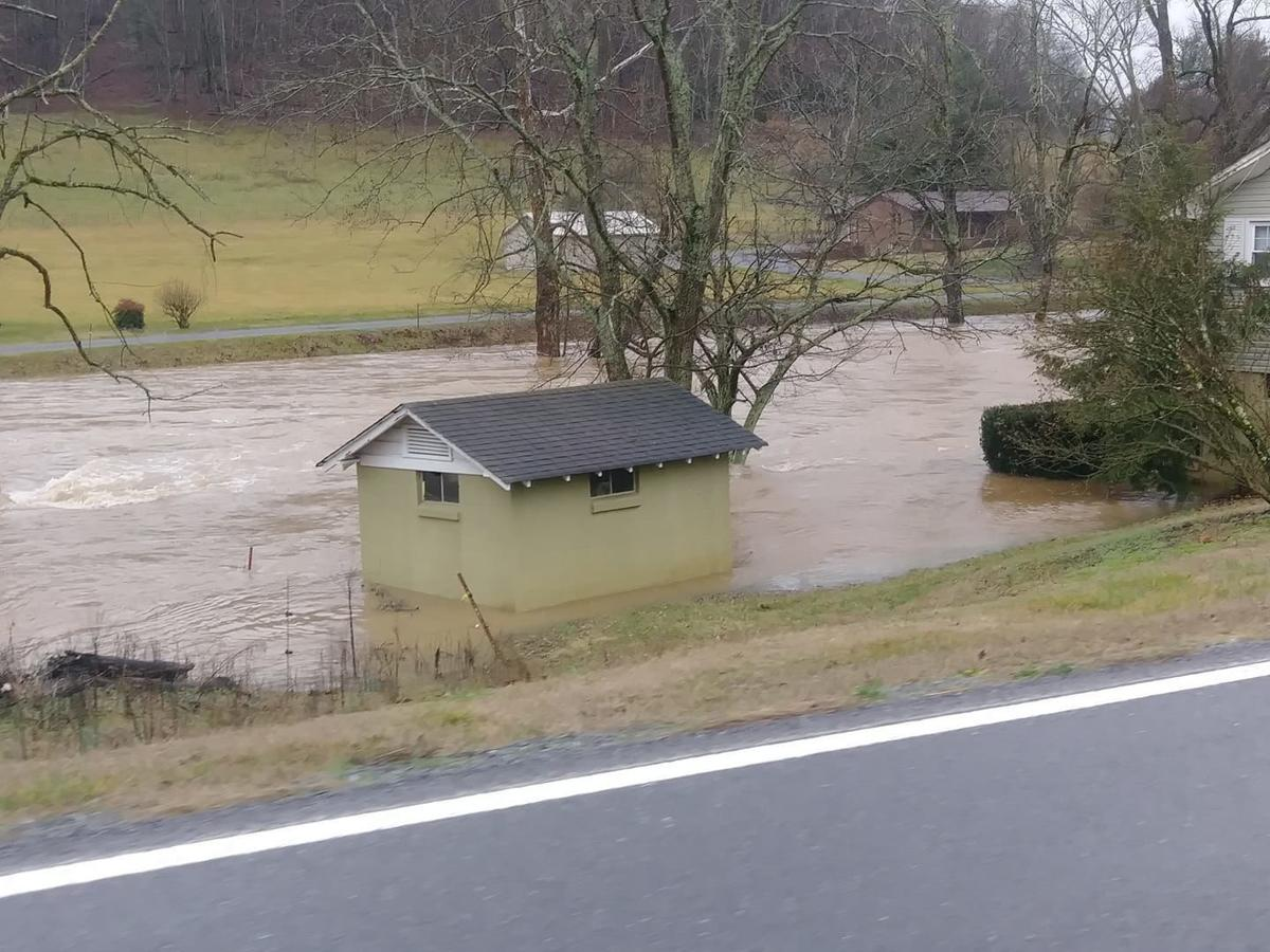 County experiences heavy rainfall and widespread flooding