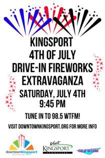 Kingsport to Celebrate Fourth of July from TWO Fireworks Locations