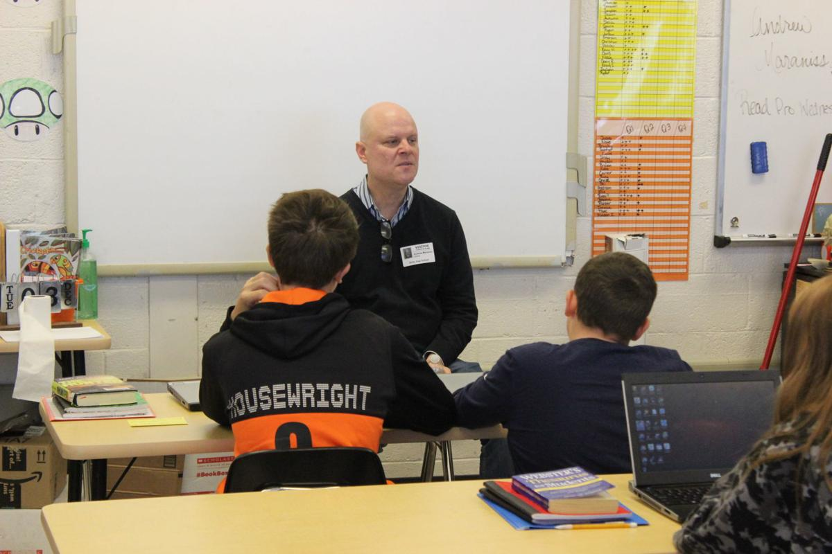 Author Andrew Maraniss visits Bulls Gap School