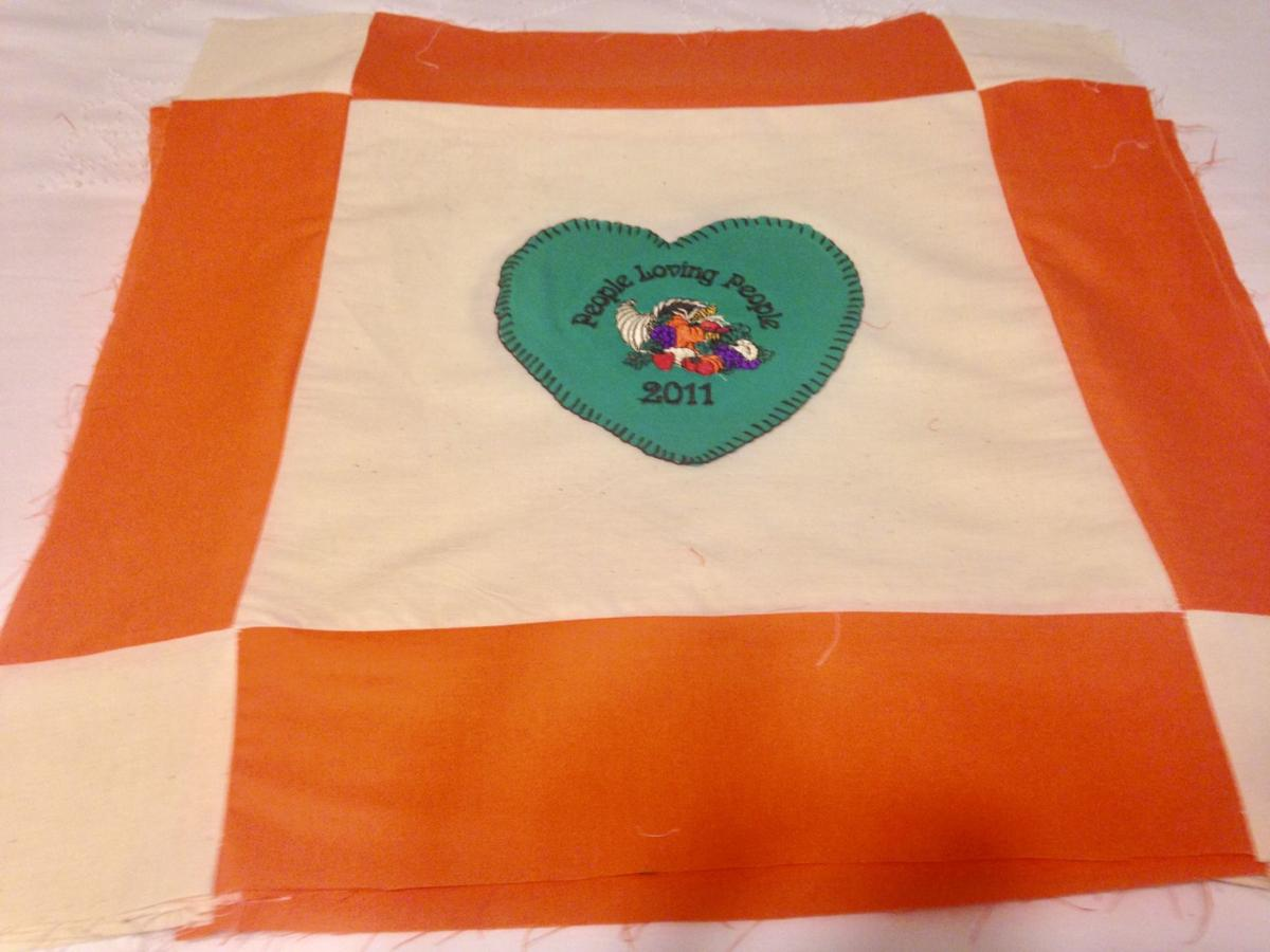 Quilt commemorates 15 years of PLP