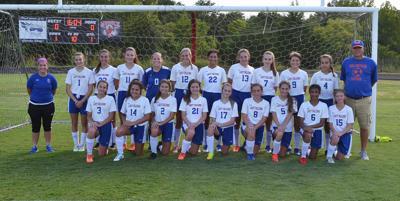 2019 Volunteer girls soccer team