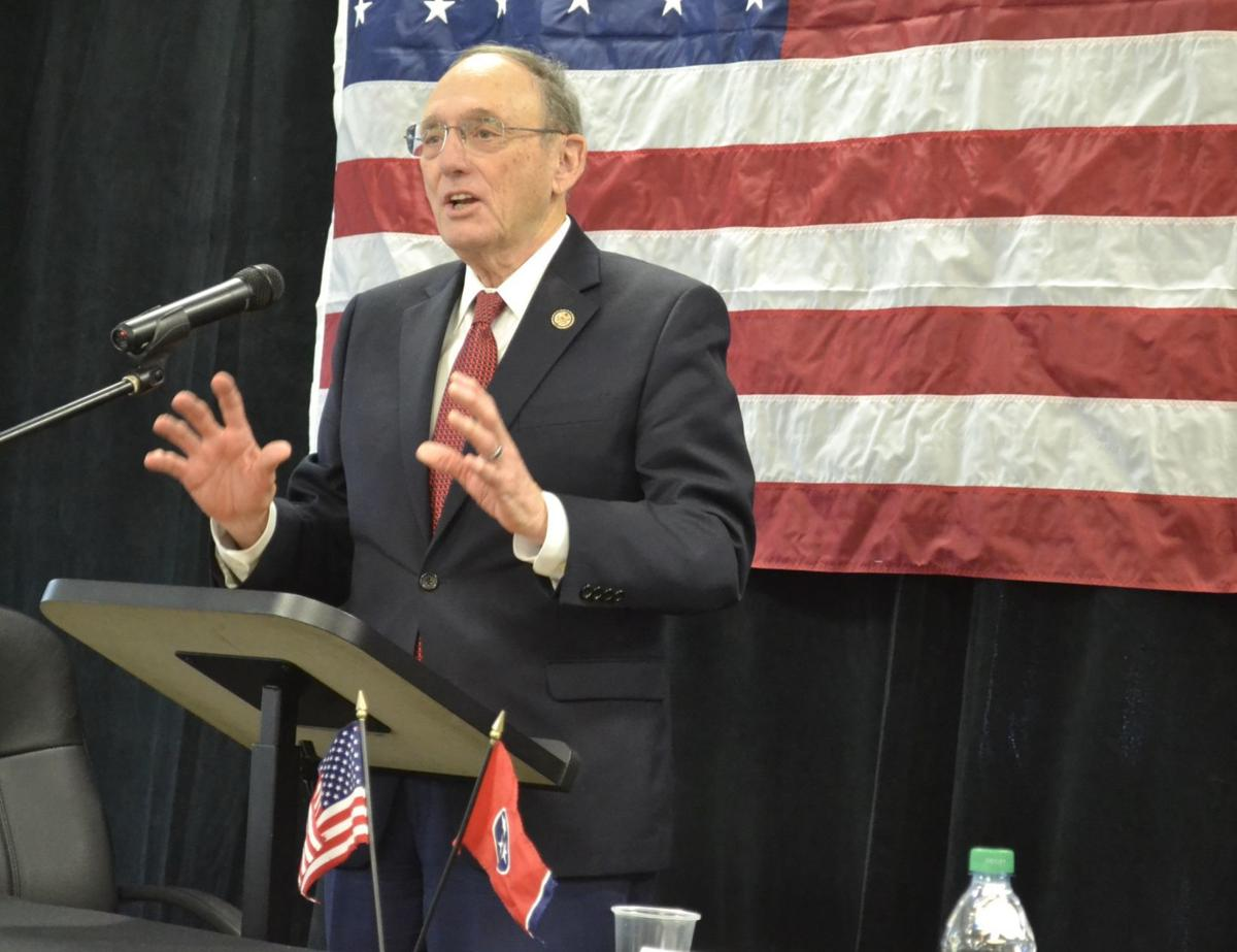 Retiring Phil Roe was headline speaker at Chamber Legislative Breakfast