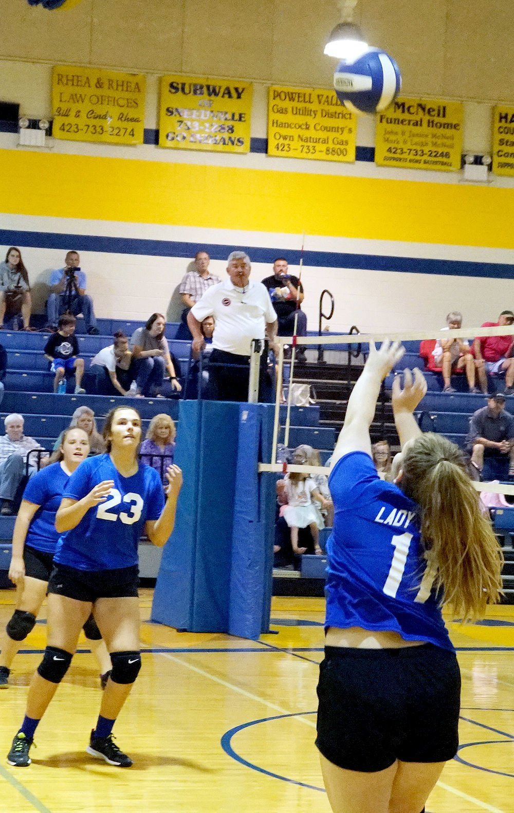 Lady Indians Volleyball