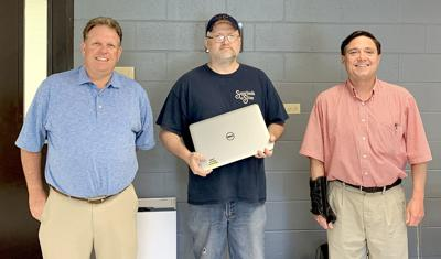 Computers donated, re-donated