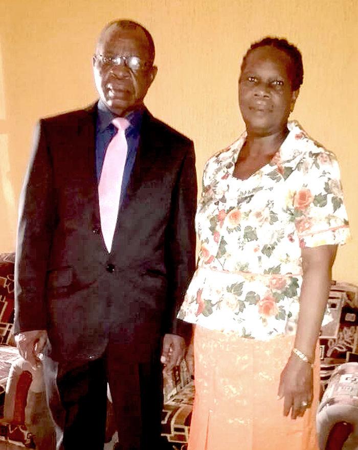 Dele and Stella Akinbowale