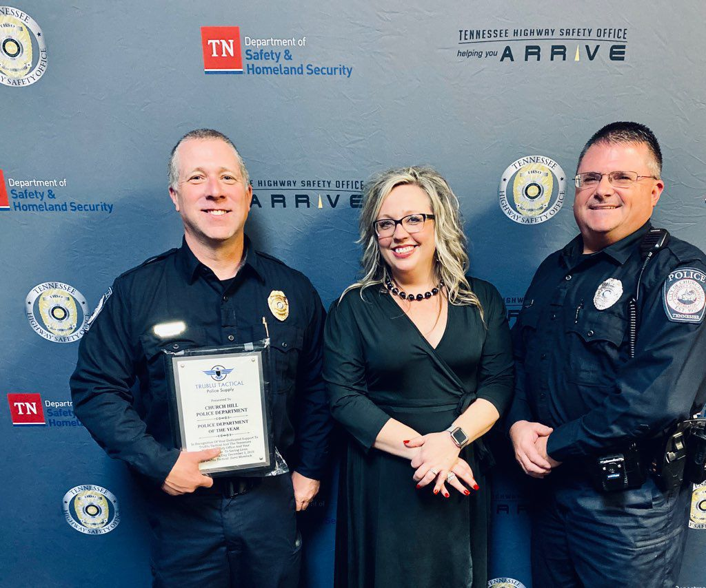 Church Hill Police Department wins Police Department of the Year