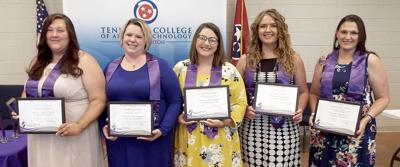 Nat. Technical Honor Society inductees from Hawkins County