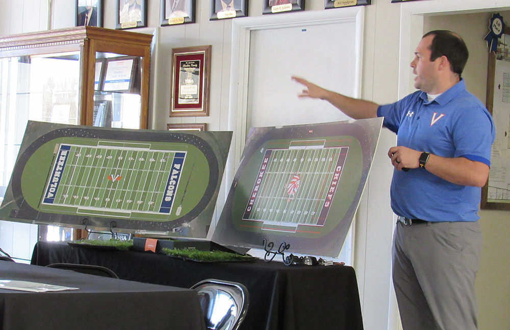 Hawkins BOE approves $1.25 million for artificial turf at CHS and VHS