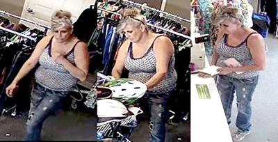 Suspect in theft of wallet