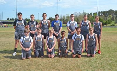 2019 Church Hill Middle School Boys Track & Field Team