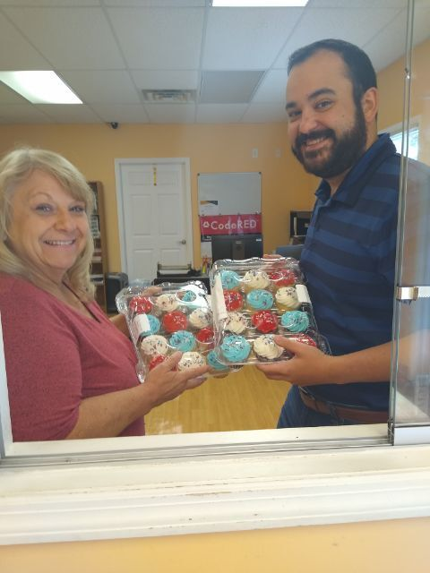 Rogersville's Cash Express gives 'thank you' treats to first responders