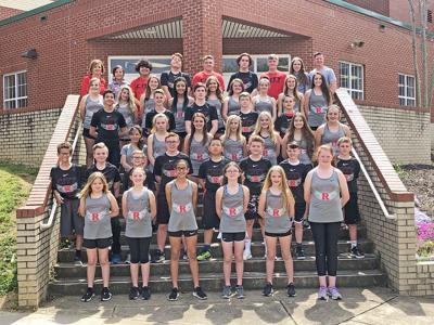 2019 Rogersville City School Track & Field Team