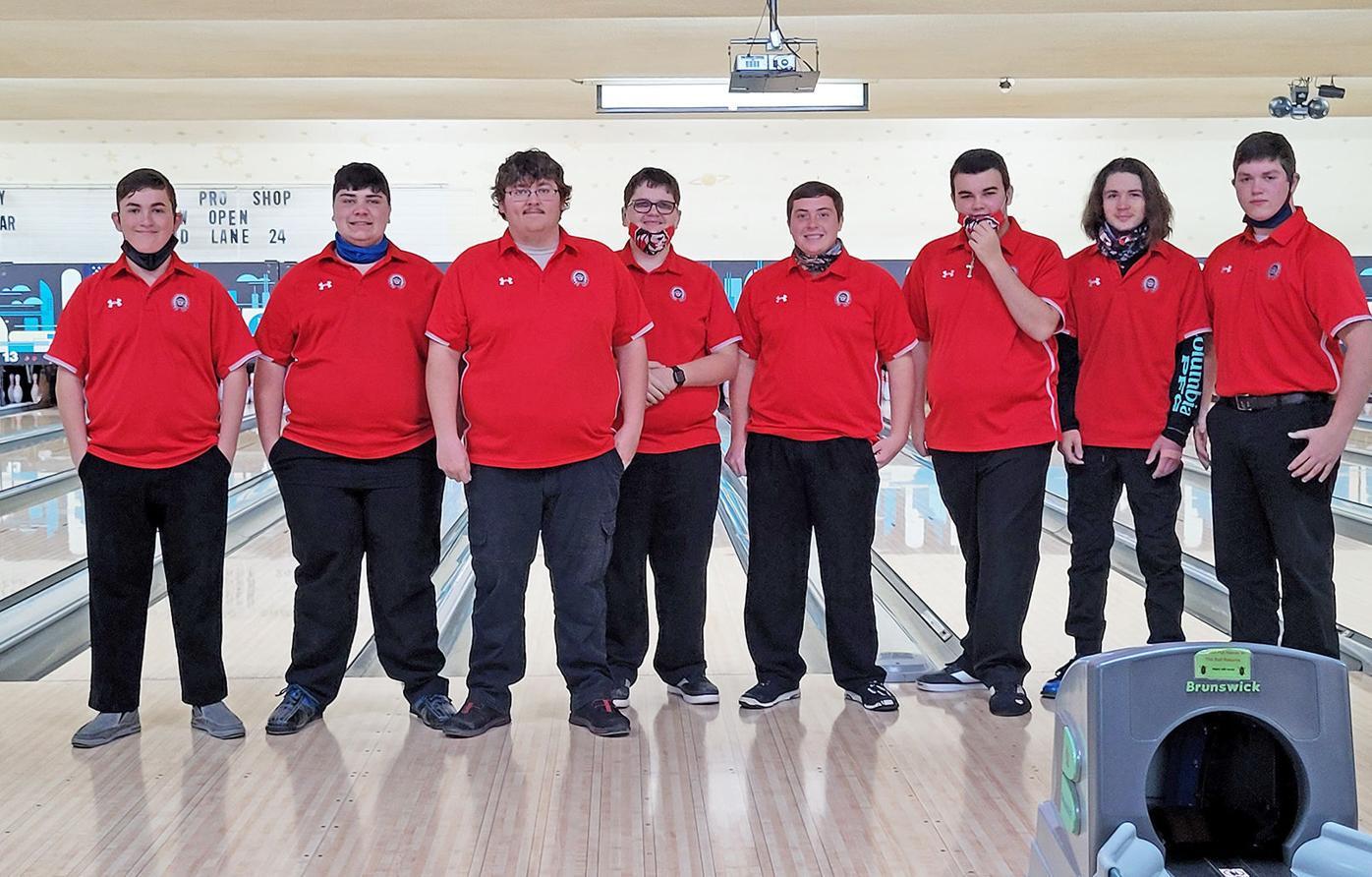 Cherokee's 20-21 boys bowling team
