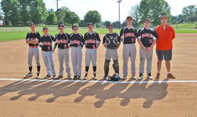2019 Surgoinsville Middle School baseball team eighth graders