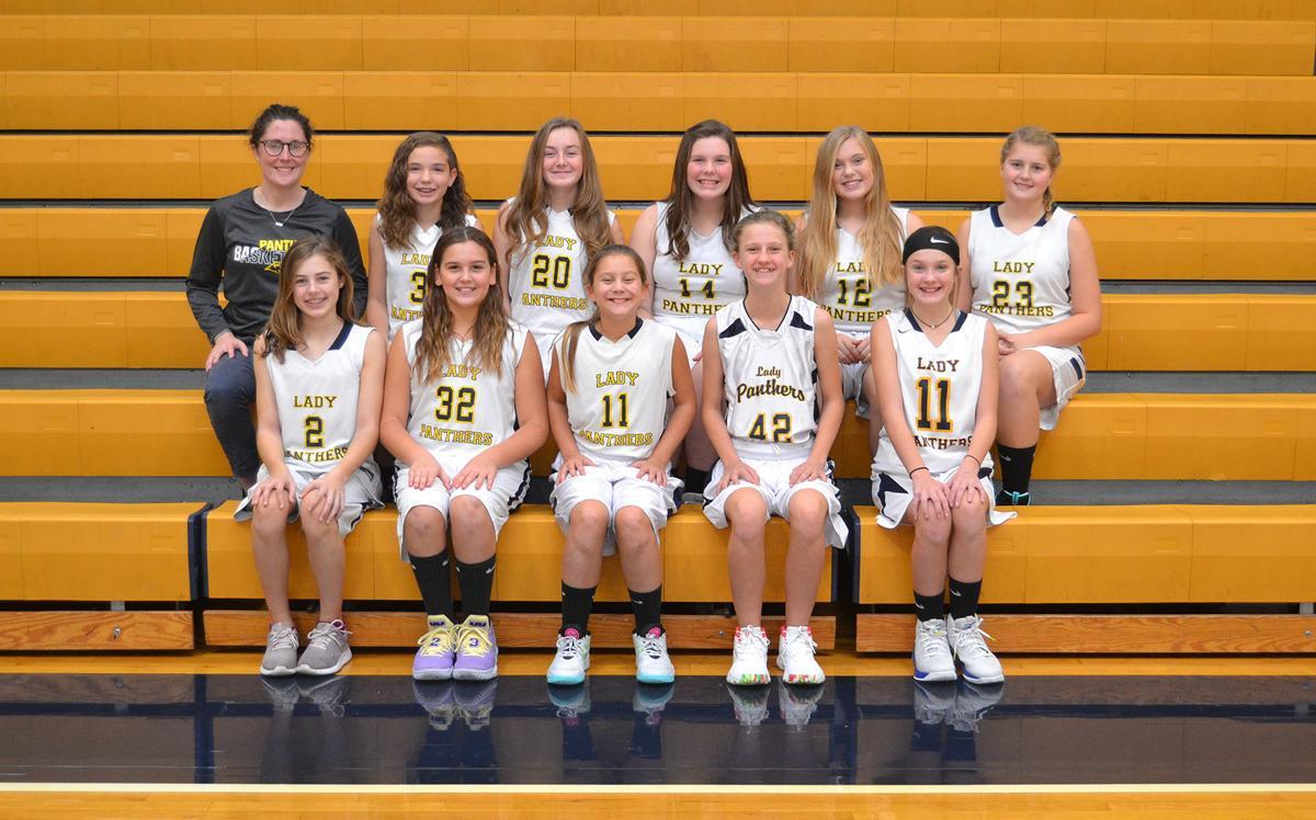 Church Hill Middle School girls JV team