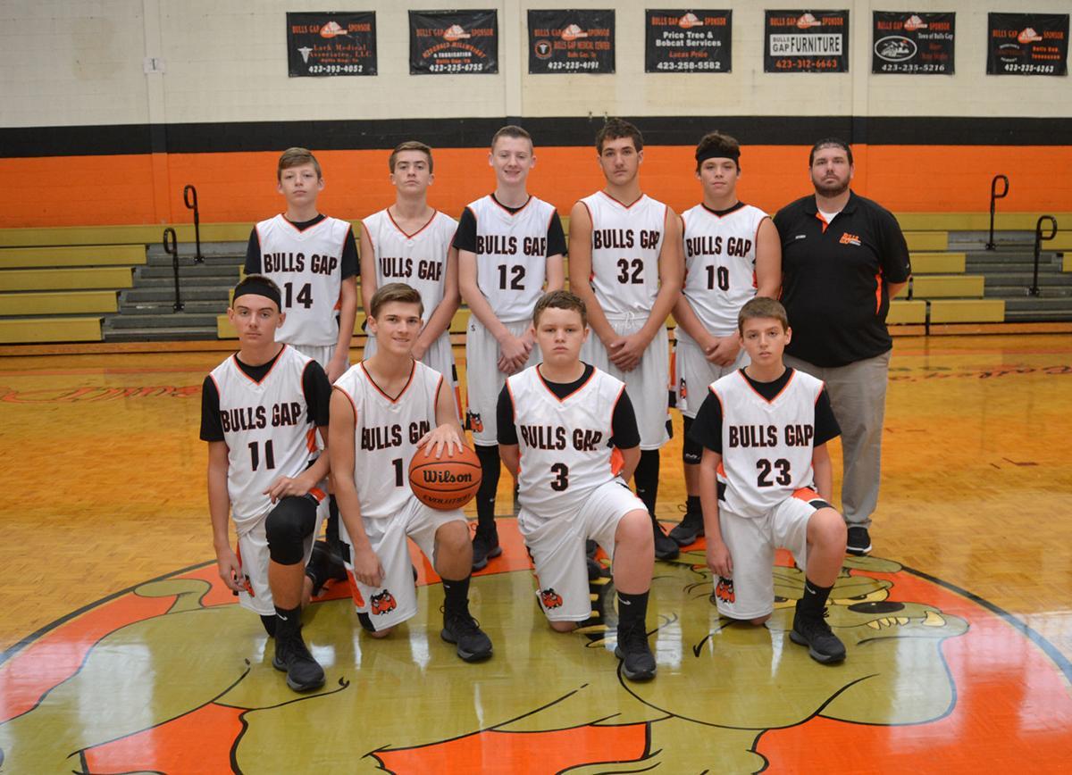 Bulls Gap boys varsity team