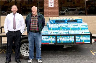 Helping flood victims