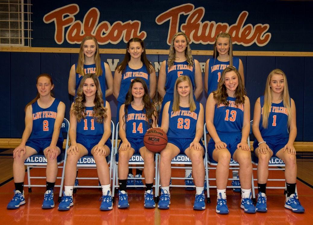 Volunteer High School freshman girls