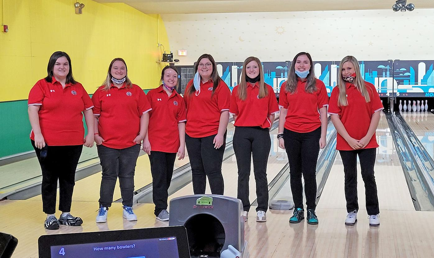 Cherokee's 20-21 girls bowling team