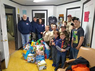 Cub Scout Pack 100, Local Heating and Cooling donate supplies to HCHS