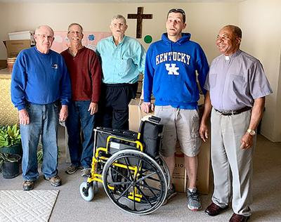 Wheelchair ministry