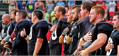 Alumni football game